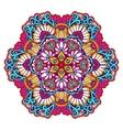 Decorative Mandala Color vector image