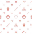 doctor icons pattern seamless white background vector image vector image