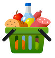 food products icon vector image