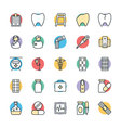 Medical and Health Cool Icons 2 vector image vector image