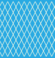 rhombus on blue background vector image vector image