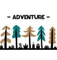adventure inspirational in vector image