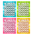 Bingo cards vector | Price: 1 Credit (USD $1)