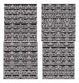 black white vintage brushes big set borders vector image vector image