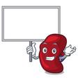 bring board spleen character cartoon style vector image vector image