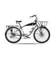 city bike vector image