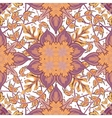 Gorgeous seamless patchwork pattern from blue vector image vector image
