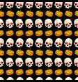 halloween seamless pattern striped design vector image vector image