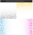 set abstract striped gray yellow blue pink vector image vector image