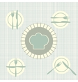 The language of Cutlery vector image