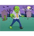 Zombie Cartoon vector image