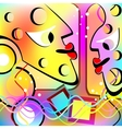 Abstract people Motley version vector image vector image