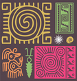 african ornament3 vector image vector image