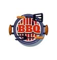 BBQ Sticker vector image vector image