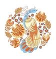Bird in the Garden vector image