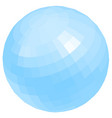 nice globe vector image vector image