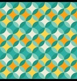 abstract colorful pastel geometric pattern vector image vector image
