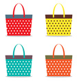 Colorful Women Bags vector image vector image