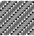 Design seamless monochrome decorative pattern vector image vector image