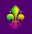 fleur de lis royal lily vector image