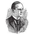 richard mansfield vintage vector image vector image