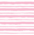 seamless pattern with light pink stripes vector image vector image