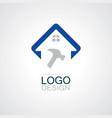 home repaire logo vector image
