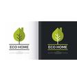Eco-settlement Logo and design element vector image