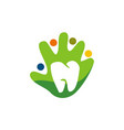 family dental care vector image vector image