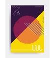 Minimalistic design poster vector image