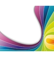 abstract colorful rainbow background vector image vector image