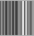 aluminum silver stripe texture background vector image vector image