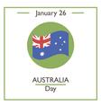 Australia Day vector image vector image