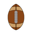ball american football vector image vector image