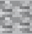 brick wall stone in grey color background vector image vector image
