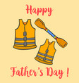 collection happy father day style design vector image vector image