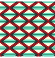 Geometric bright pattern vector image vector image