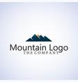 mountain logo design signs symbols logo vector image vector image