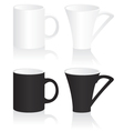 Mug black and white vector | Price: 1 Credit (USD $1)