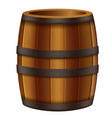 oak barrel vector image