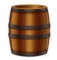 oak barrel vector image