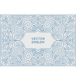 poster design template and greeting card with copy vector image vector image