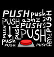 push button message vector image