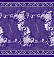 seamless horizontal pattern on tibetan motifs vector image vector image