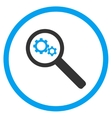 Search Tools Rounded Icon vector image