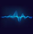 sound wave vector image vector image