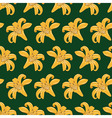 Tiger Lilies Seamless Texture vector image vector image