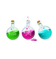 poison bottllesgame icon of a poison bottle vector image