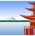 Fujiyama vector image