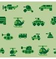 Pixel war pattern vector image vector image